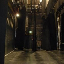 Queen's Theatre - from stage left towards stage right